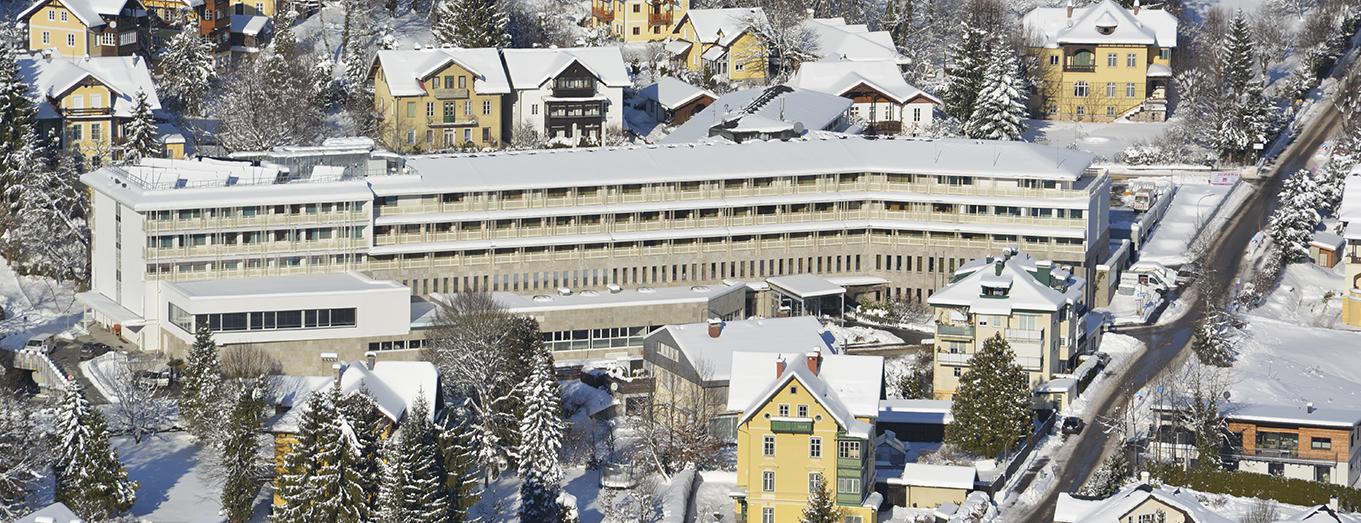 Herz Reha Krankenhaus Bad Ischl - Lage